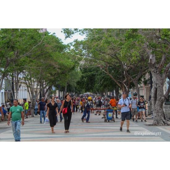 Paseo del Prado in Havana