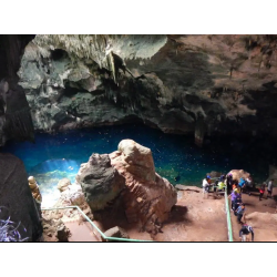 Cruise on a Yacht With Gasparee Cave Experience
