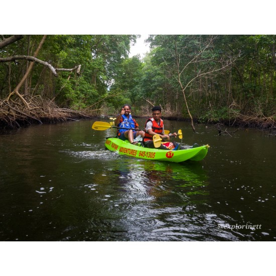 Kayak Adventure in the Second Largest Swamp of Trinidad and Tobago